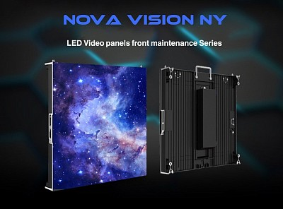 LED Vifeo wall panels front service maintenance P1.9-P6.25