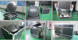 Packaging of LED ball screen