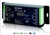 LED DMX Decoder 4x8Amp NV-DD4x8A