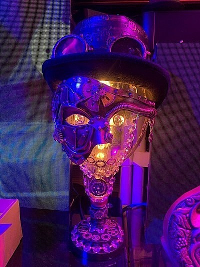 Steampunk Lamp face