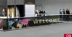 Invisible LED Film Display P20 - Welcome area